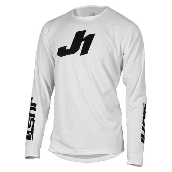 Jersey J-Essential Solid White